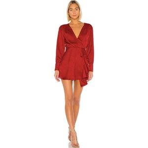 Tularosa x Revolve Red Caleb Mini Dress